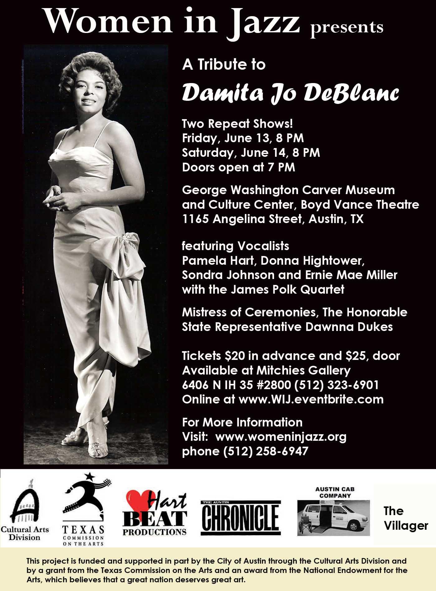 Tribute to Damita Jo DeBlanc