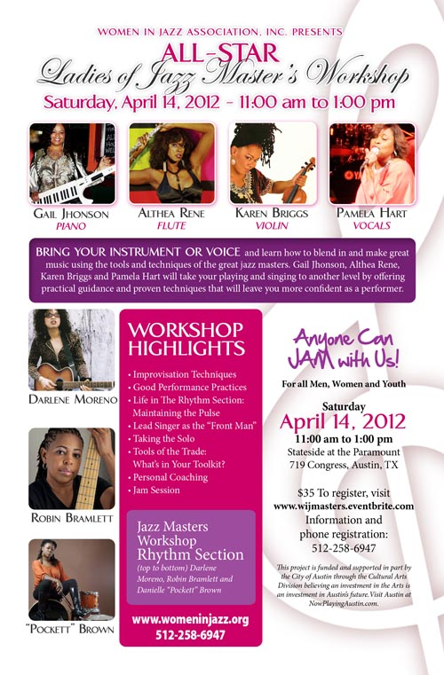 All-Star Ladies of Jazz Masters' Workshop