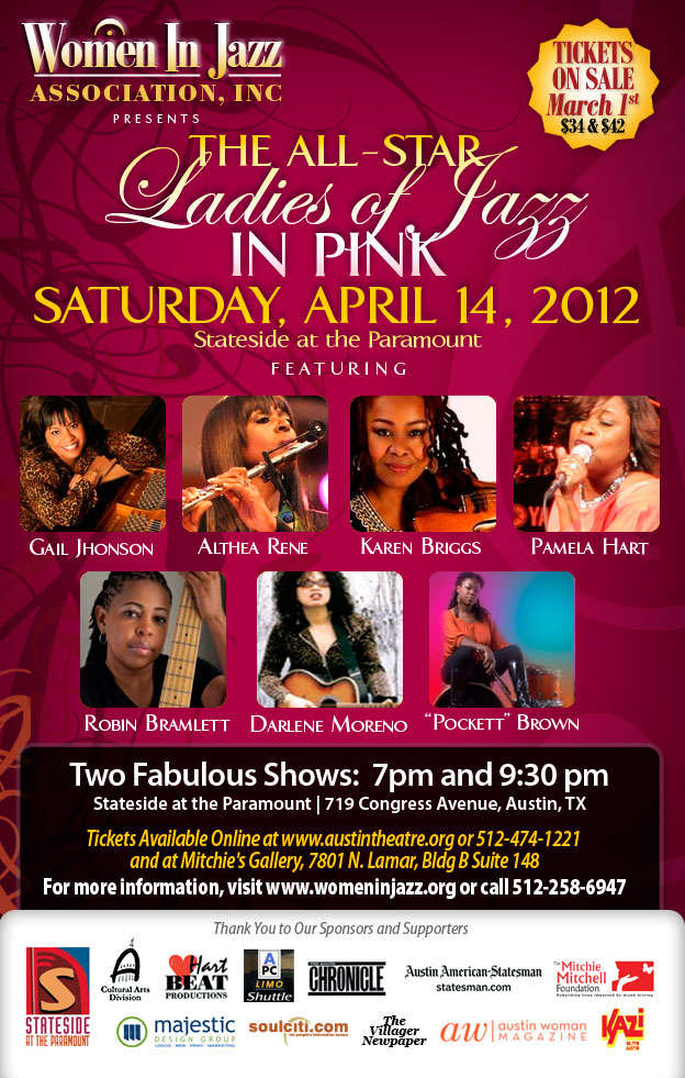 """All-Star Ladies of Jazz in Pink"""