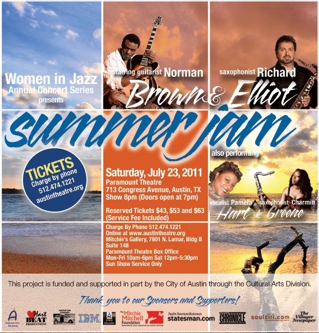 Summer Jam: Norman Brown & Richard Elliot