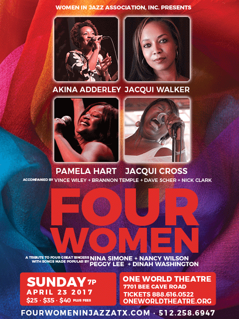 "Tickets on Sale Now! ""Four Women – A Tribute to Great Singers"""
