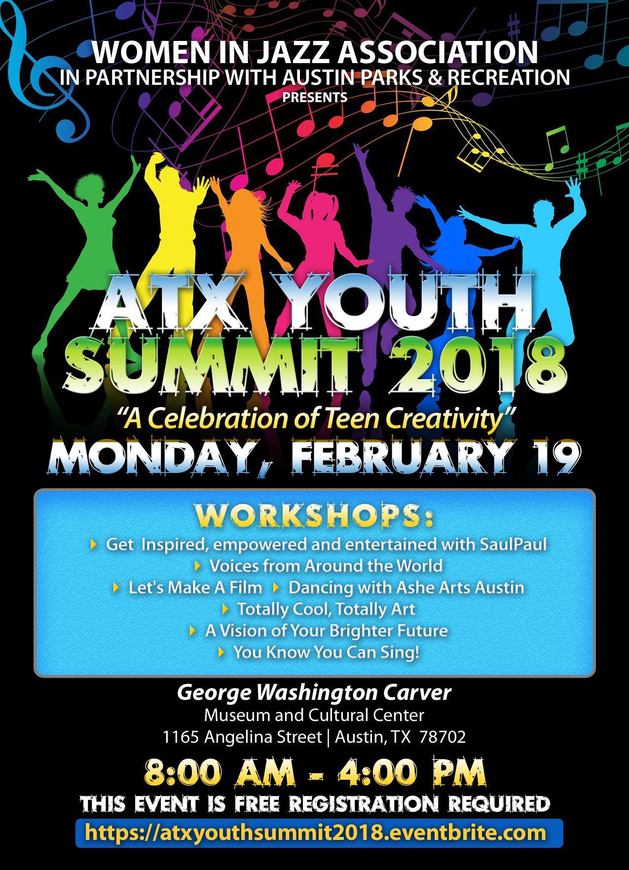 ATX Youth Summit 2018:  A Celebration of Teen Creativity