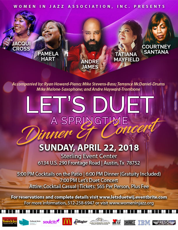 Let's Duet: A Springtime Dinner Concert, Sunday, April 22nd
