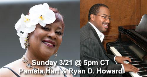Pam Hart & Ryan Howard House Concert 3-21-21