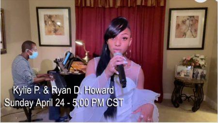 Kylie Phillips w Ryan Howard 4-25-21